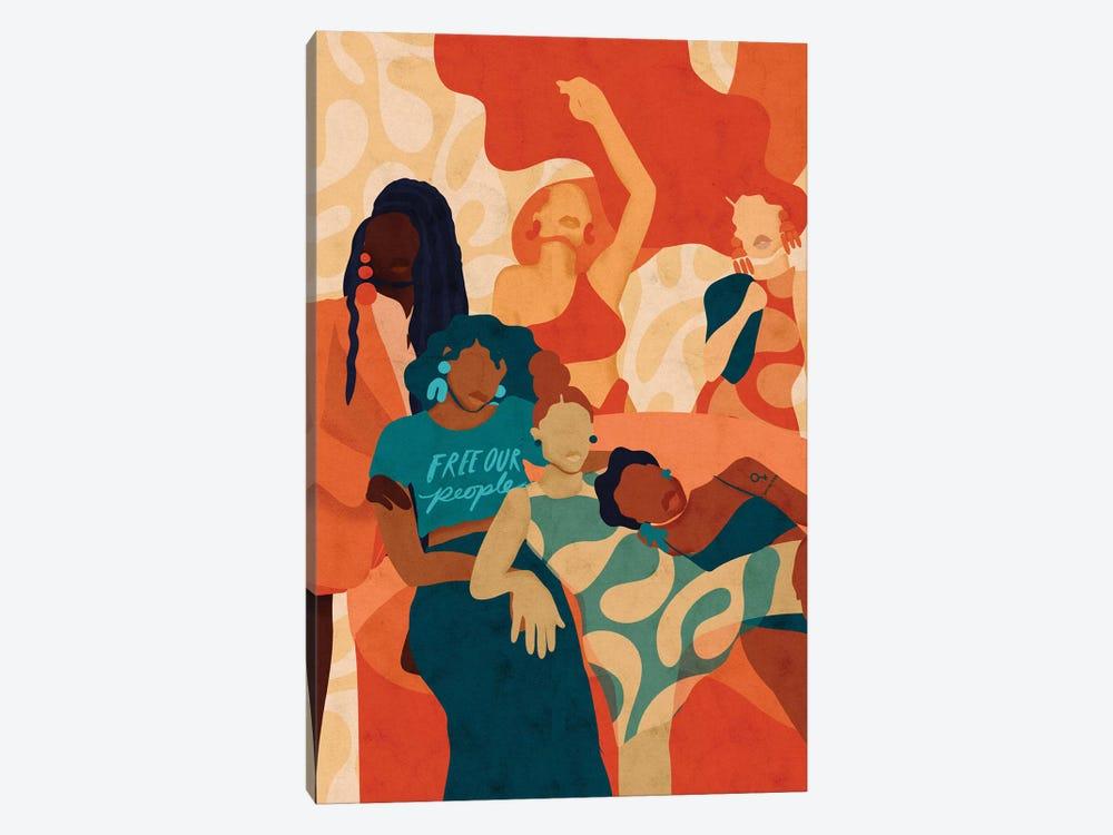 Women by Reyna Noriega 1-piece Canvas Print