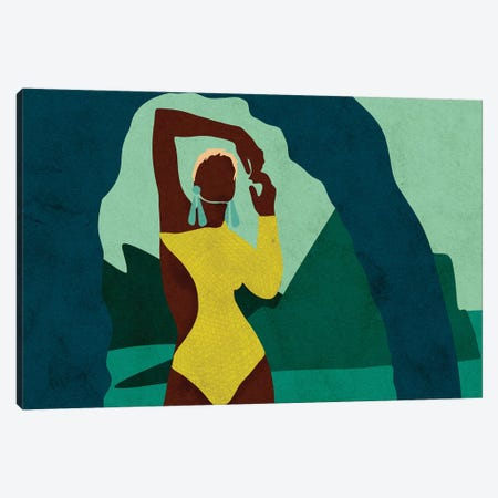 Citronella Horizontal Canvas Print #NRE6} by Reyna Noriega Canvas Art