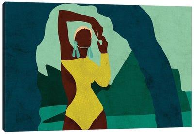 Citronella Horizontal Canvas Art Print