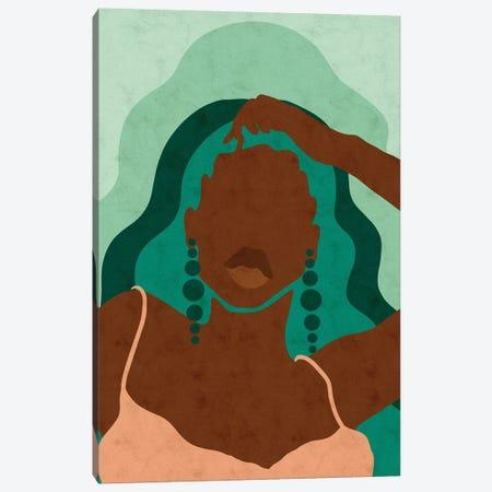 Emerald Canvas Print #NRE72} by Reyna Noriega Canvas Artwork