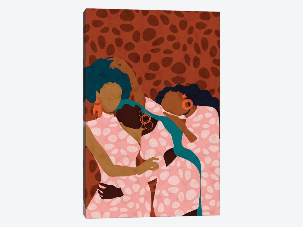 Lean On Me by Reyna Noriega 1-piece Art Print