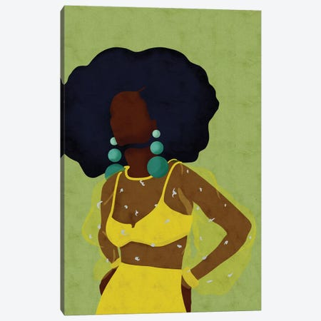 Stella Canvas Print #NRE76} by Reyna Noriega Canvas Art Print