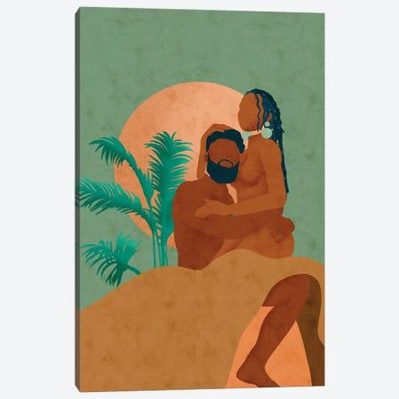 Don't Let Go Canvas Print #NRE82} by Reyna Noriega Canvas Art Print
