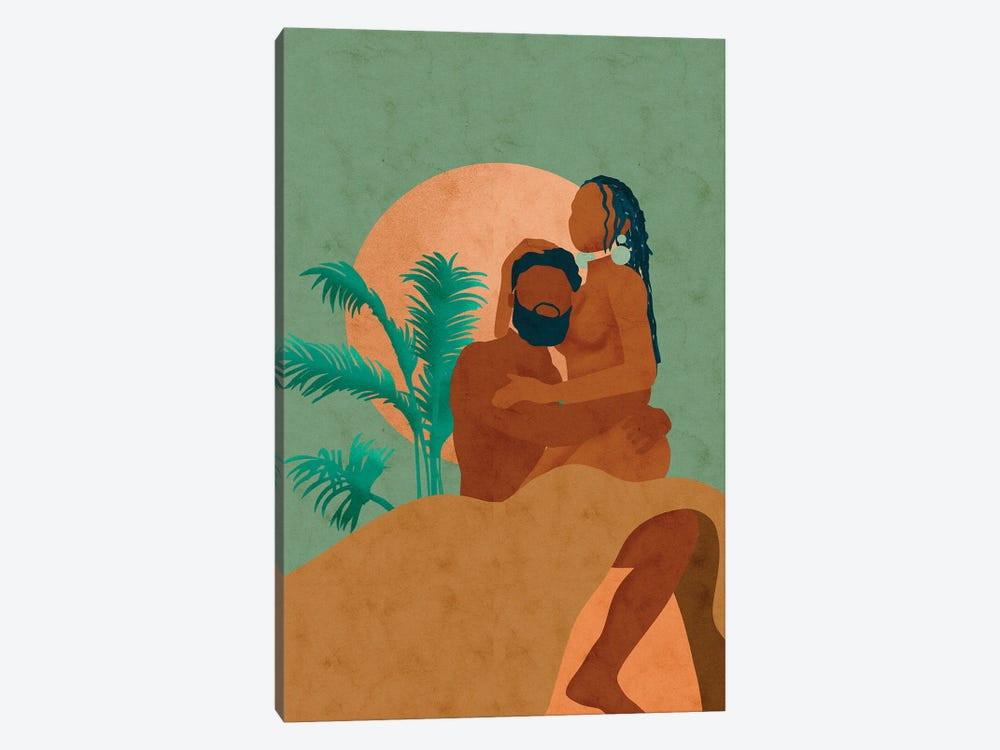 Don't Let Go by Reyna Noriega 1-piece Canvas Art Print