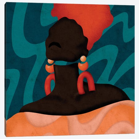 Sonya Canvas Print #NRE85} by Reyna Noriega Canvas Wall Art