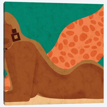 Embrace Me Canvas Print #NRE88} by Reyna Noriega Art Print