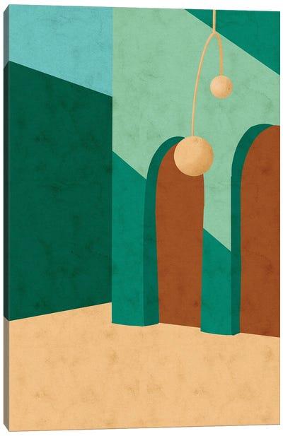 Rua Esmeralda Canvas Art Print