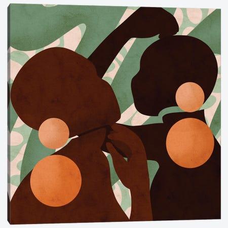 Duality Square Canvas Print #NRE95} by Reyna Noriega Canvas Art Print