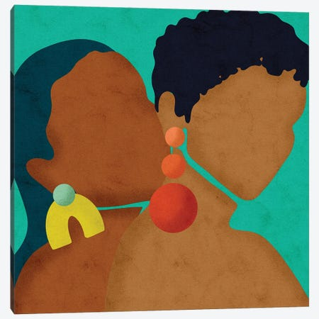 Rise Canvas Print #NRE97} by Reyna Noriega Canvas Print