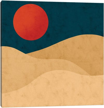 Sahara Canvas Art Print