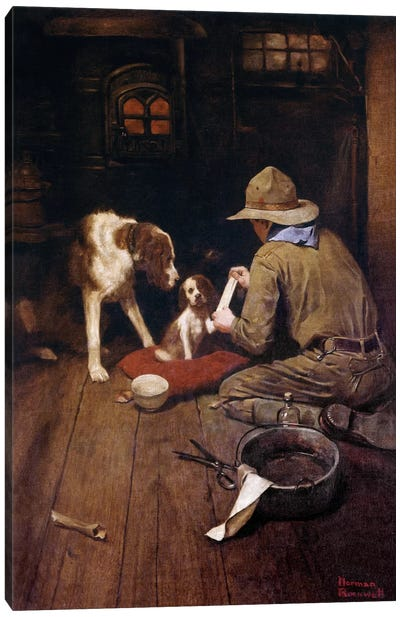 A Scout is Kind       Canvas Art Print