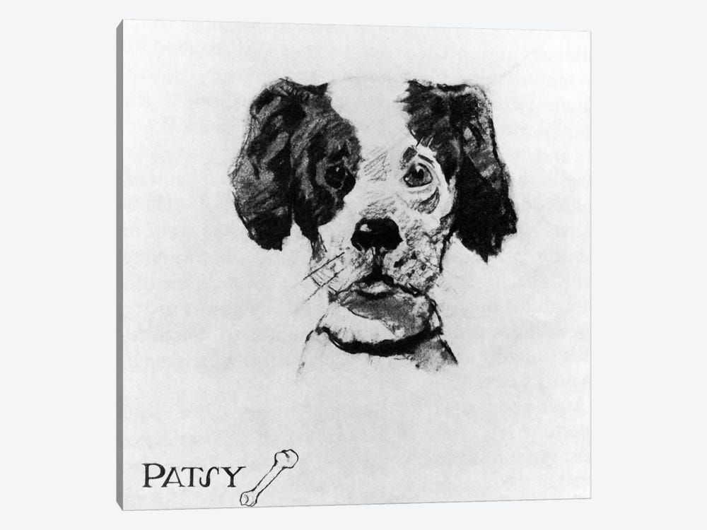 Cousin Reginald Characters: Patsy by Norman Rockwell 1-piece Canvas Wall Art