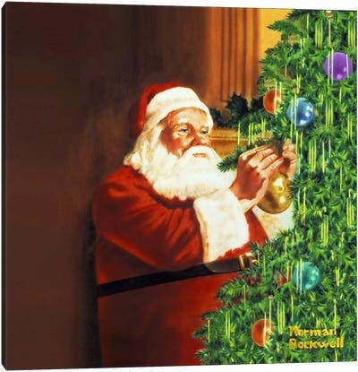 Holiday Greeting Canvas Print #NRL189