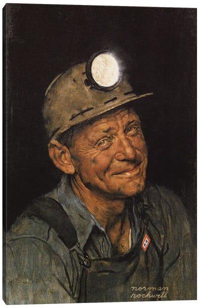 Mine America's Coal Canvas Art Print