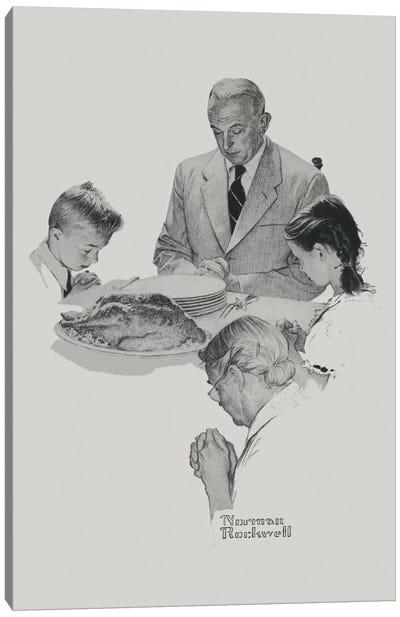 Thanksgiving Canvas Print #NRL256