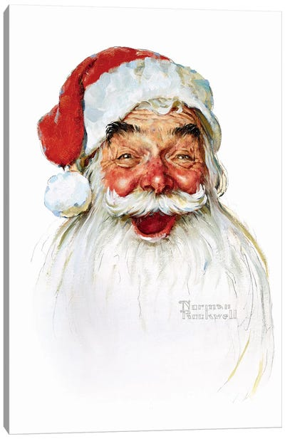 Santa Claus by Norman Rockwell Art Print