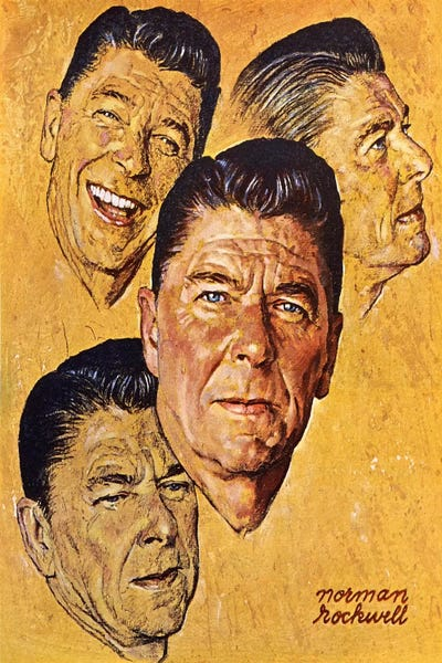 What About Reagan Canvas Print
