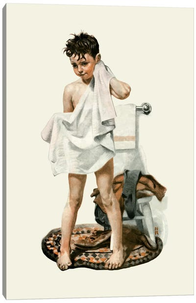 C-L-E-A-N by Norman Rockwell Art Print