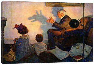 The Children's Hour Canvas Art Print