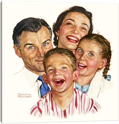 The Greatest Joys Are Shared Canvas Print #NRL333
