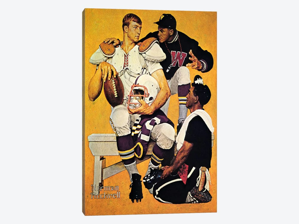 The Recruit by Norman Rockwell 1-piece Canvas Wall Art