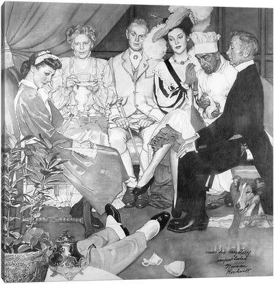 Murder Mystery Canvas Art Print