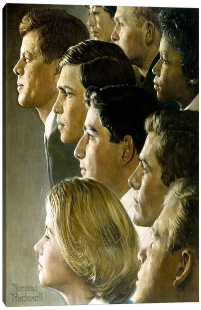 The Peace Corps Canvas Art Print