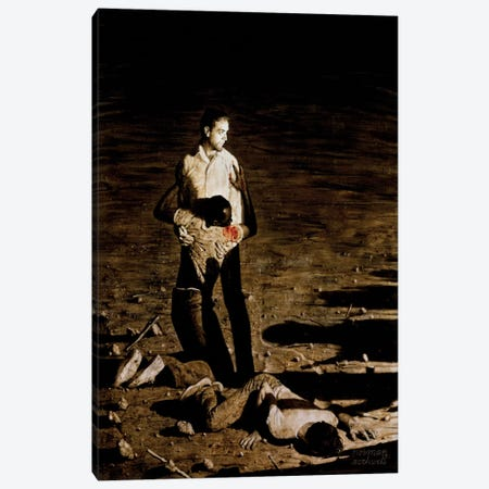 Southern Justice Canvas Print #NRL42} by Norman Rockwell Canvas Artwork