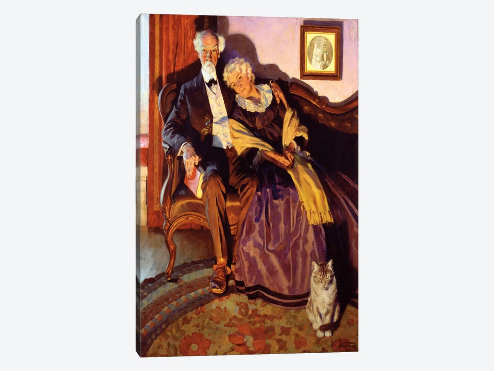 When Winter Comes by Norman Rockwell 1-piece Canvas Art Print