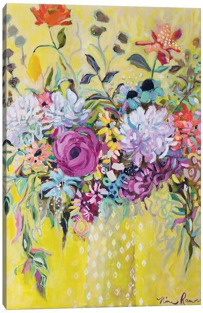 Blooming in Sunshine III Canvas Art Print