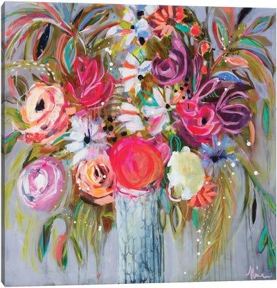Blooming in Sunshine V Canvas Art Print