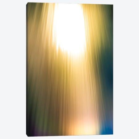 Rainbow Light Flare Canvas Print #NRV170} by Nik Rave Canvas Artwork