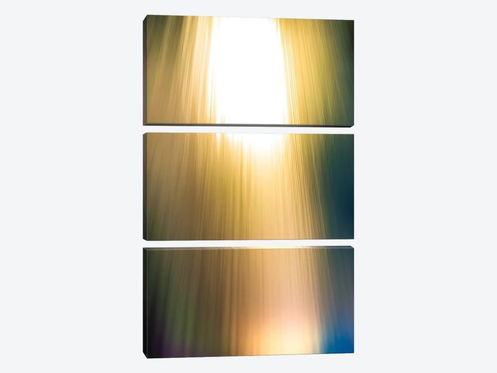 Rainbow Light Flare by Nik Rave 3-piece Canvas Artwork