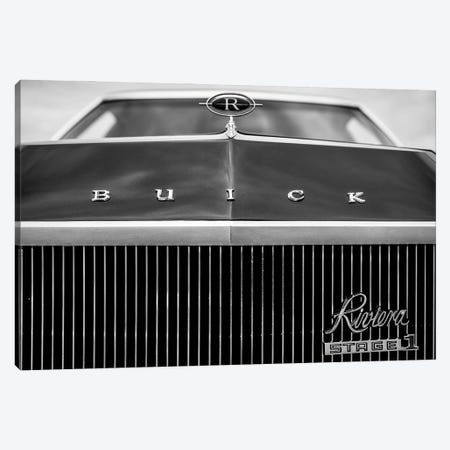 Buick Reviera Canvas Print #NRV244} by Nik Rave Canvas Print