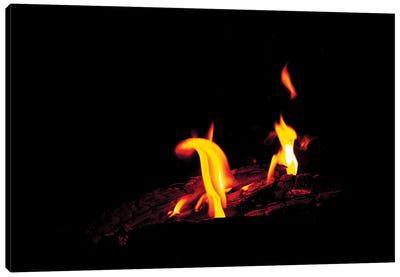 Dancing Fire Canvas Art Print