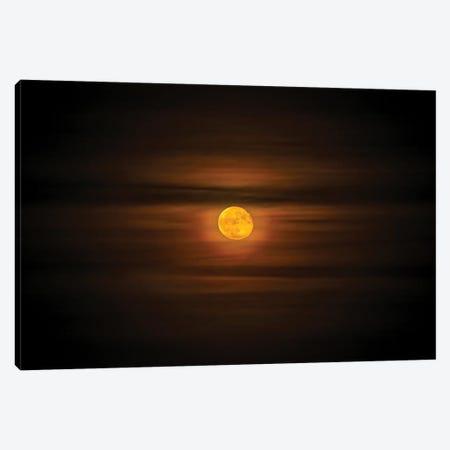 Epic Moon Canvas Print #NRV258} by Nik Rave Canvas Art Print