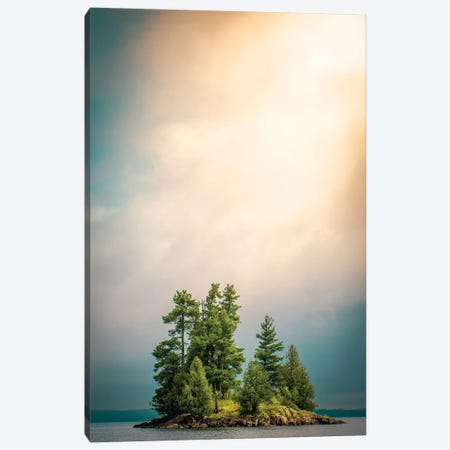 Small Island Canvas Print #NRV2} by Nik Rave Canvas Print