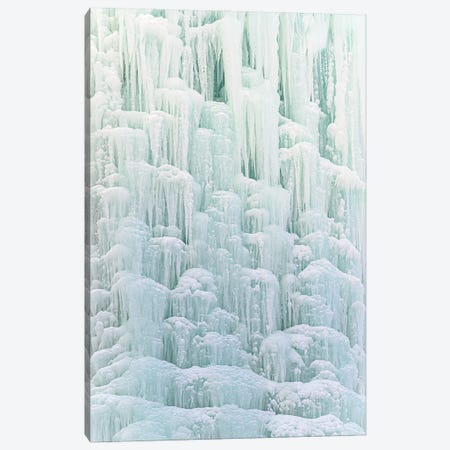 Frozen Waterfall II Canvas Print #NRV355} by Nik Rave Canvas Art Print