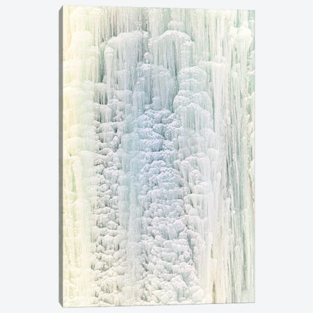 Frozen Waterfall III Canvas Print #NRV356} by Nik Rave Canvas Art Print