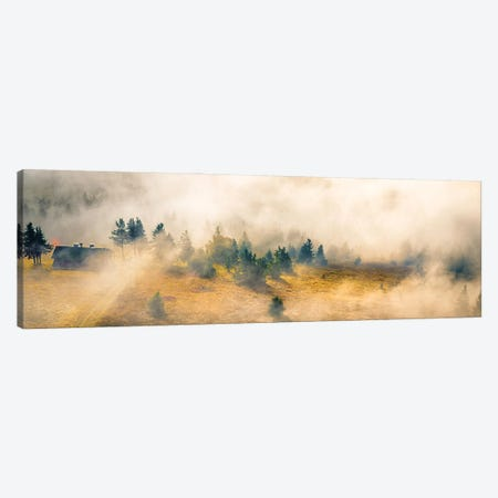 Germany House In The Wilderness Canvas Print #NRV394} by Nik Rave Canvas Print