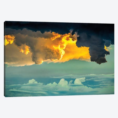 Living Sky Canvas Print #NRV3} by Nik Rave Canvas Art Print