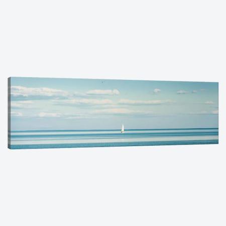 Little Piece Of Heaven: Seascape Canvas Print #NRV95} by Nik Rave Canvas Artwork