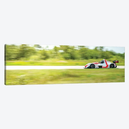 High-Speed Formula Car Canvas Print #NRV97} by Nik Rave Canvas Wall Art