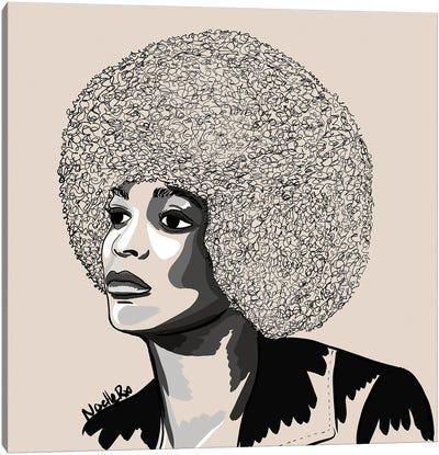 Ms Angela Davis Canvas Art Print