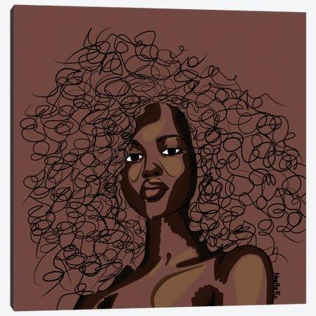 Cocoa Canvas Print #NRX103} by NoelleRx Canvas Wall Art