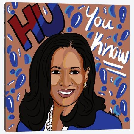Madam Vice President Canvas Print #NRX105} by NoelleRx Canvas Print