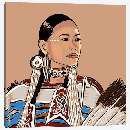 Native To This Land Canvas Print #NRX107} by NoelleRx Canvas Print