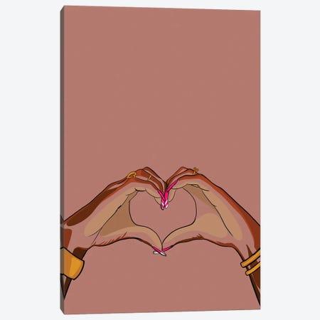 Love Signs Canvas Print #NRX116} by NoelleRx Canvas Wall Art