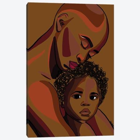 Mommy's Baby II Canvas Print #NRX11} by NoelleRx Art Print