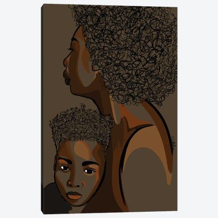 Mommy & Me VIII Canvas Print #NRX14} by NoelleRx Canvas Artwork